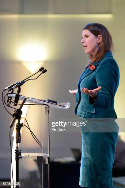 Liberal Democrat Deputy Leader Jo Swinson MP during the Scottish Liberal Democrats' autumn conference on November 11 2017 in Dunfermline Scotland