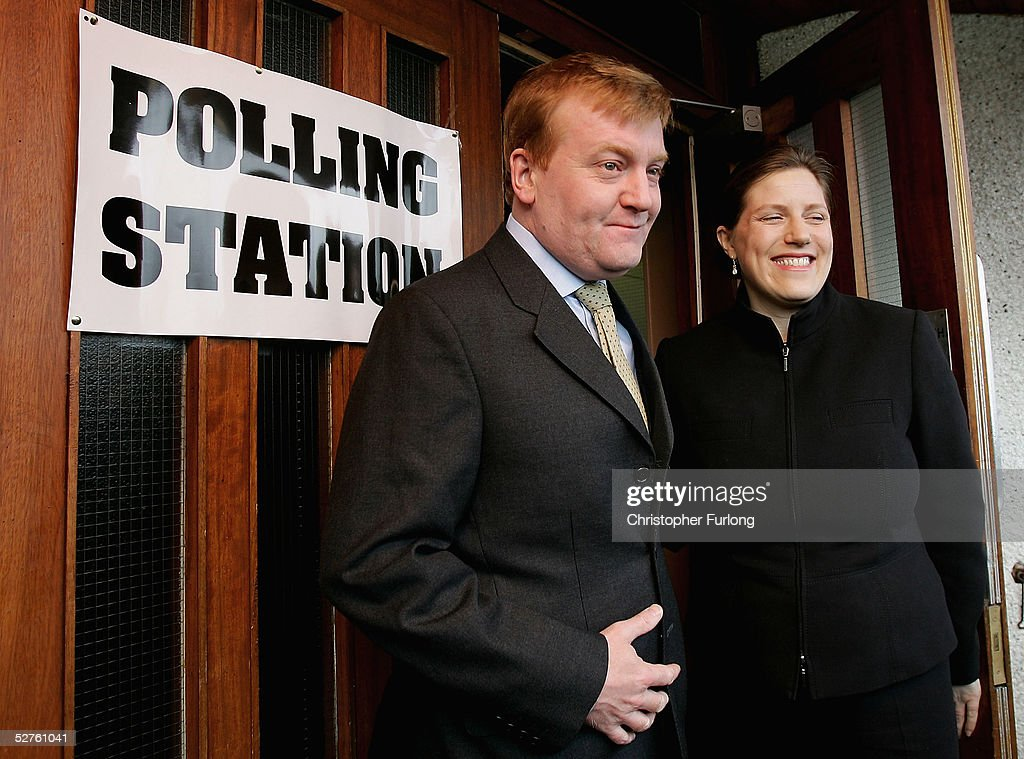 Politicians Take To The Polls On Election Day