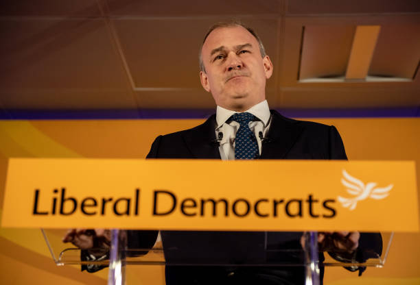 GBR: Ed Davey Gives Virtual Speech To Liberal Democrat Conference