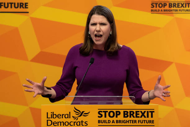 "GBR: Jo Swinson Delivers Speech Entitled ""The Problem With Boris Johnson"""