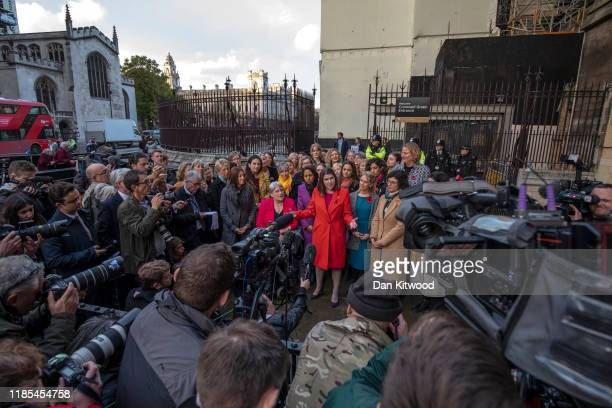 Liberal Democrat Leader Jo Swinson gives a statement saying she must be allowed to take part in TV election debates and will pursue legal avenues if...