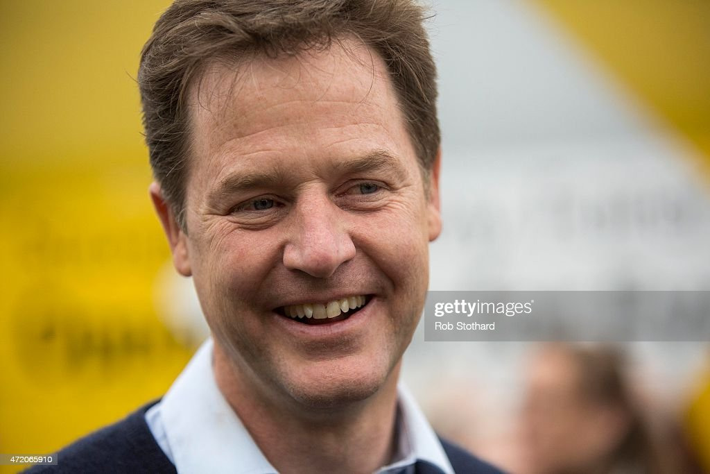 Nick Clegg Campaigns In Bermondsey, Lewes And Maidstone : News Photo