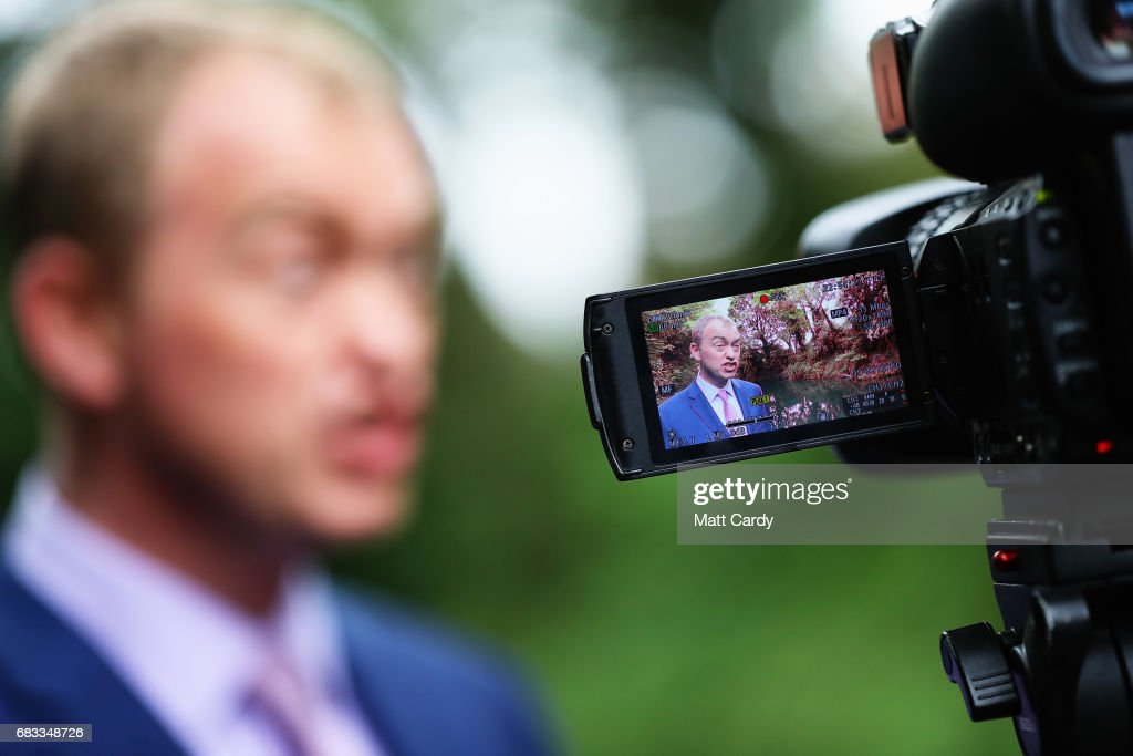 Tim Farron Campaigns In Solihull