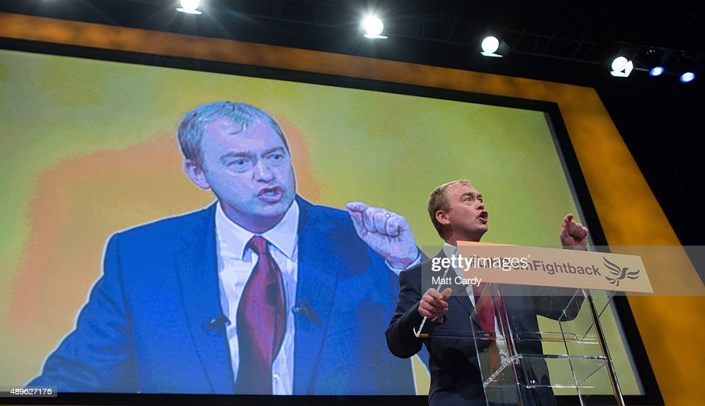 Liberal Democrats Autumn Conference 2015 - Day 5 : News Photo