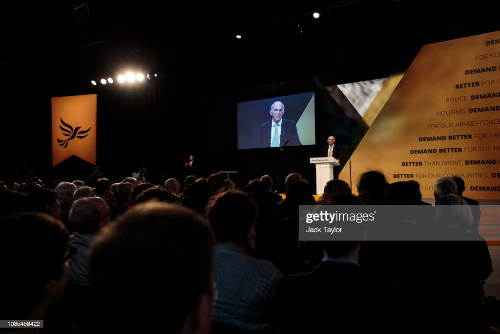 The Liberal Democrat Party Conference 2018 : News Photo