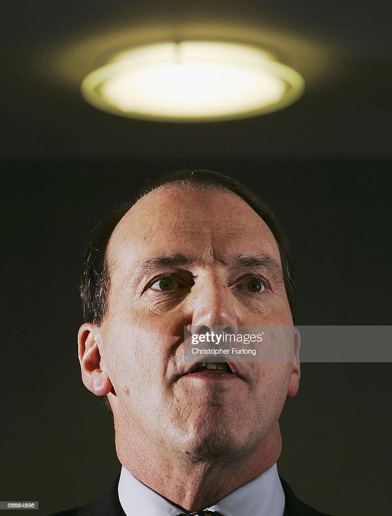 Simon Hughes Launches Leadership Campaign : News Photo