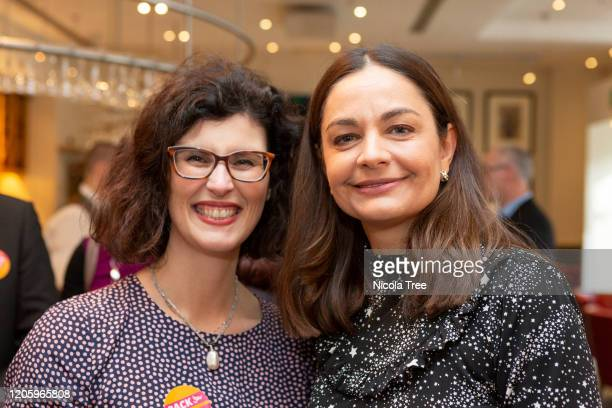 Liberal Democrat MP for Oxford West and Abingdon Layla Moran with Liberal Democrat candidate Siobhan Benita at the launch of her campaign for the...