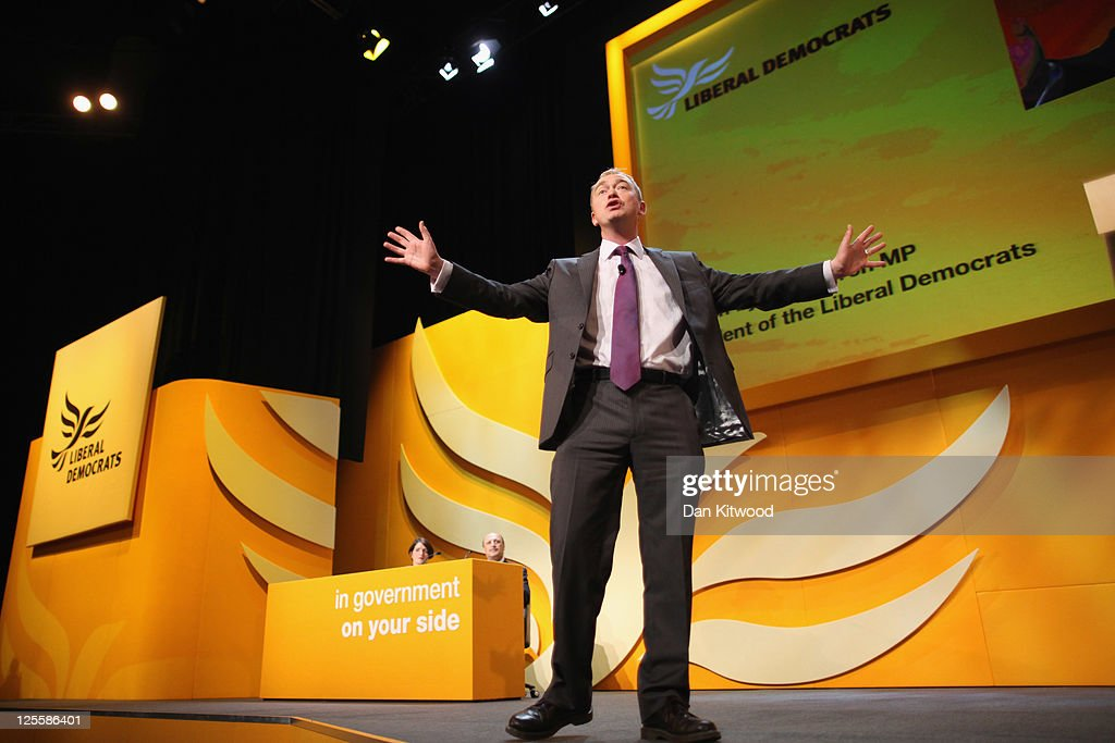 The Liberal Democrats Hold Their Annual Party Conference : News Photo