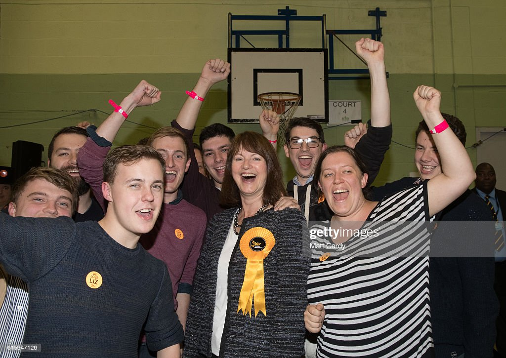 By-election Takes Place In David Cameron's Former Constituency Of Witney : News Photo