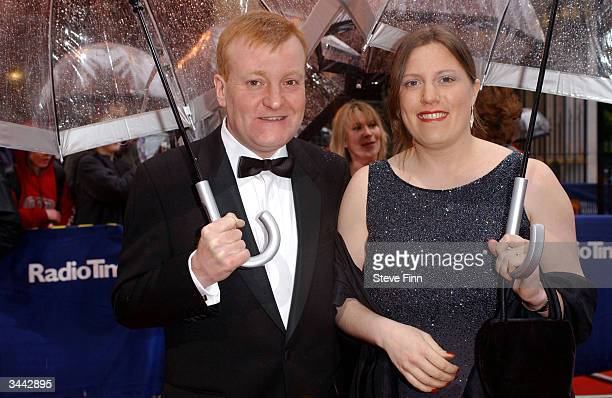 Liberal Democrate leader Charles Kennedy and his wife arrives at the The British Academy Television Awards at the Grosvenor House Hotel on April 18...