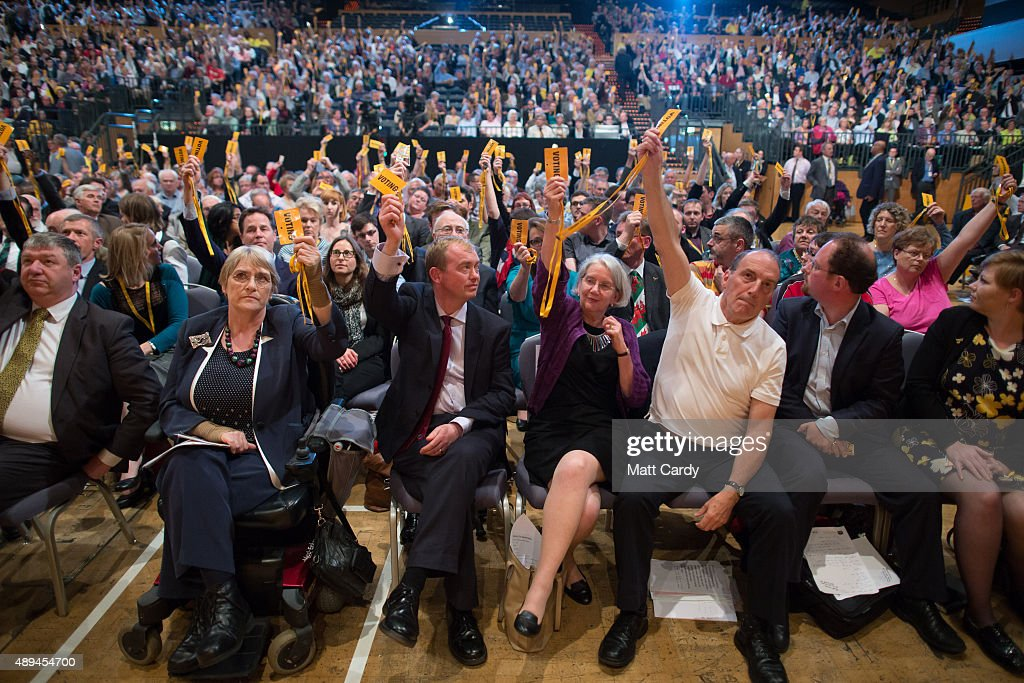 Liberal Democrats Autumn Conference 2015 - Day 3 : News Photo