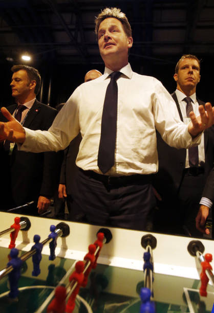 LibDem Annual Conference Pictures Getty Images - Conference table football