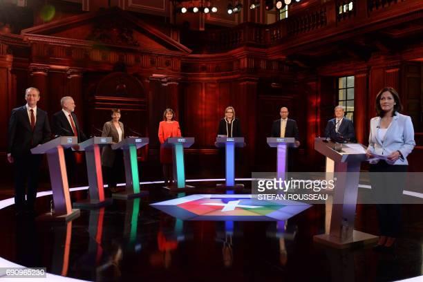 Liberal Democrats leader Tim Farron Labour leader Jeremy Corbyn Green Party coleader Caroline Lucas Plaid Cymru leader Leanne Wood Home Secretary...