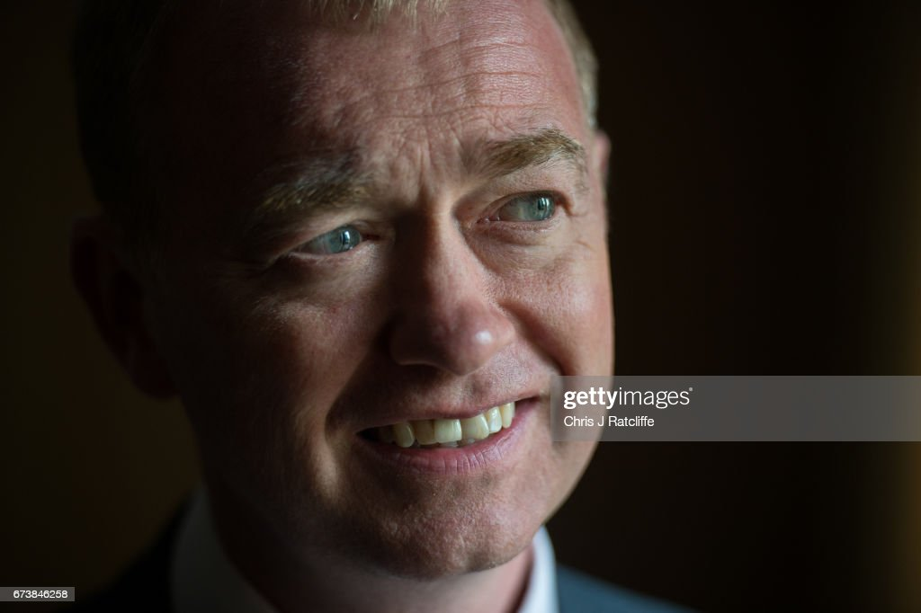 Liberal Democrats party leader Tim Farron poses for a portrait at Melbourn Science Park on April 27, 2017 in Cambridge, England. Mr Farron has been campaigning in the Cambridgshire area alongside parliamentary candidate and former MP Julian Huppert, Mayoral candidate Rod Cantrill and cadidate for South Cambridgeshire Susan Van De Ven.