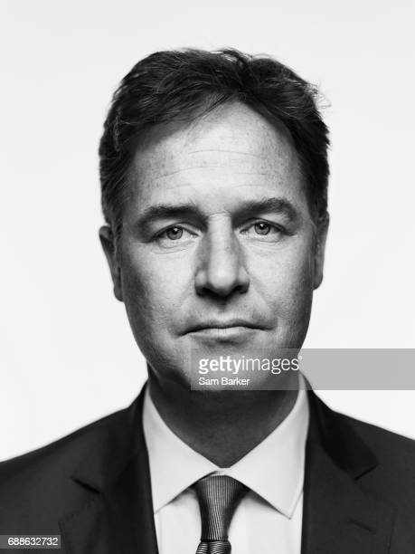 Liberal Democrats Party politician Nick Clegg is photographed for Vintage Publishing on June 21 2016 in London England