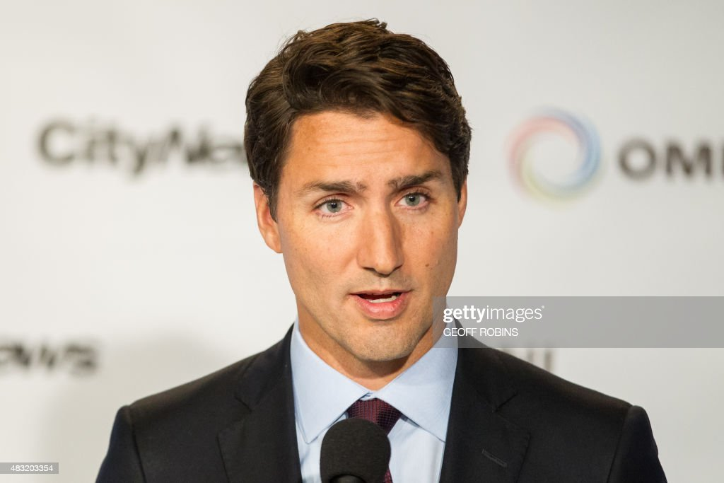 CANADA-VOTE-DEBATE : News Photo