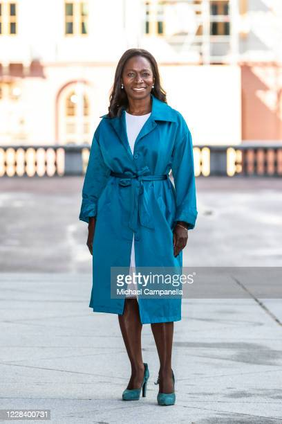 Liberal Party leader Nyamko Sabuni attends the opening of the Swedish Parliament for the fall session at the Riksdag Parliament building on September...