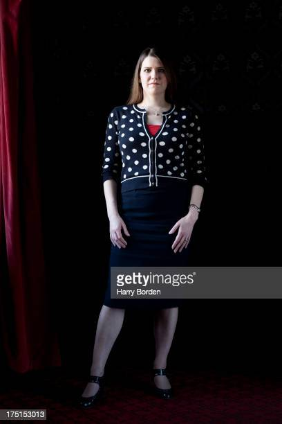 Liberal party politician Jo Swinson is photographed for the Observer on April 24 2013 in London England