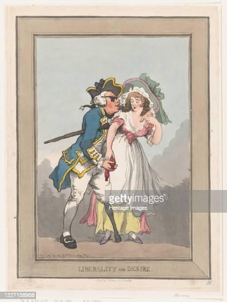 Liberality and Desire November 29 1788 Artist Thomas Rowlandson