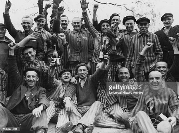 Dachau Concentration Camp 1945 High Resolution Stock