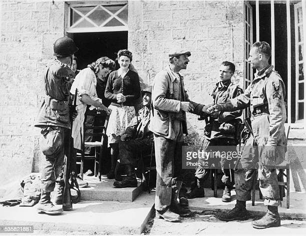 Liberation of France June 6 1944