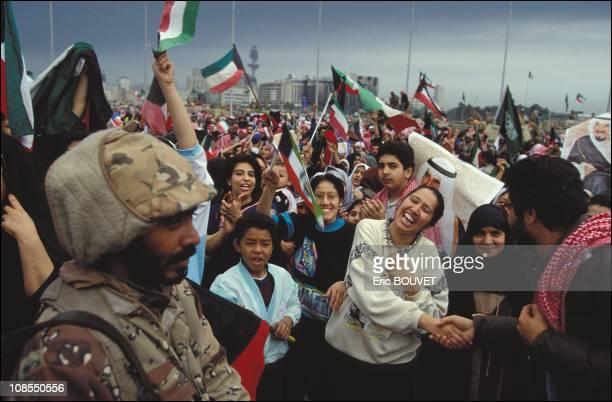 Liberation of Kuwait City Kuwait on February 27th 1991