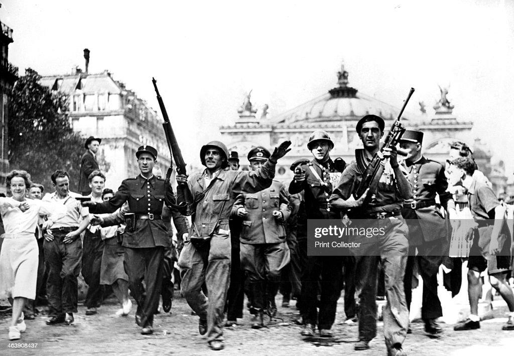 Liberation of Paris, 25 August 1944. : News Photo