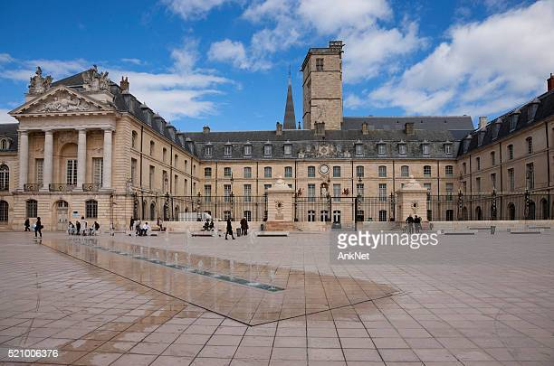liberation square in dijon, france - dijon stock pictures, royalty-free photos & images