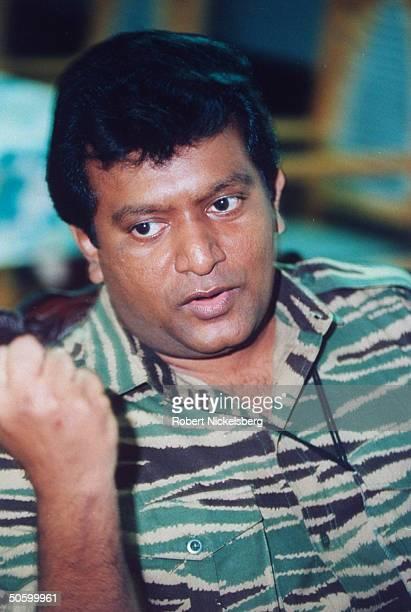 Velupillai Prabhakaran Stock Photos and Pictures | Getty ...