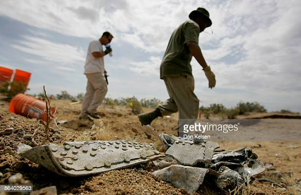 – – A B–24 Liberator bomber crashed in the Mojave Desert in 1944 Ten crewmen died Their remains were sent to their families Now 62 yrs later the...