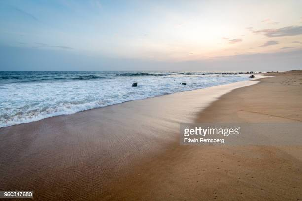 liberia sunset - tide stock pictures, royalty-free photos & images