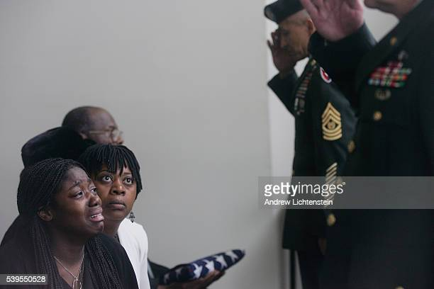 Liberian immigrant Prince Teewia's funeral killed in Iraq by an IED on December 29th services in Newark Delaware burial at Veteran's memorial...