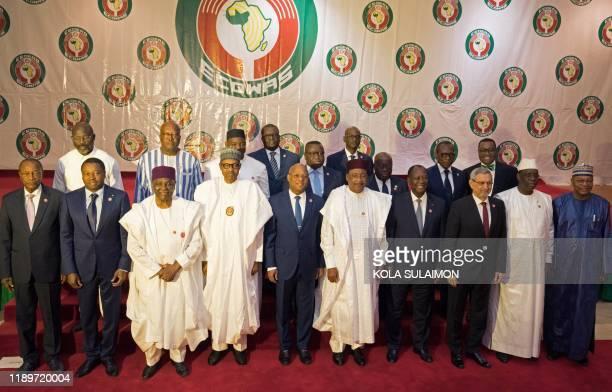 Liberian President George Weah Burkina Faso President Roch Marc Christian Gambia Adama Barrow Sierra Leone Julius Maada Bio Ghana President Nana...