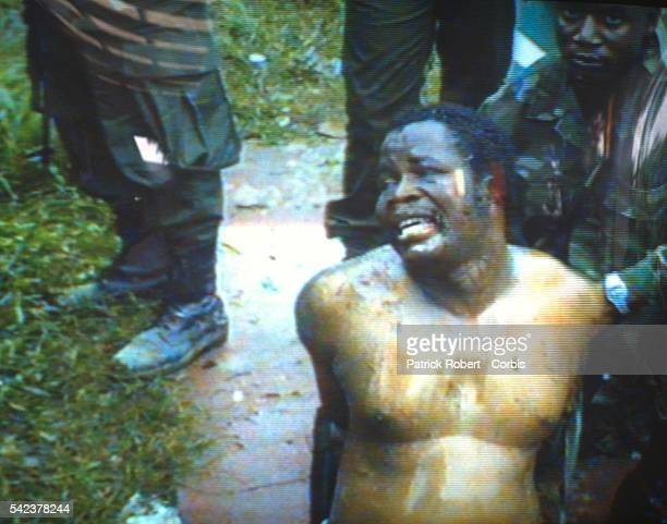 Liberian president Samuel Doe is tortured at the hands of the militant group Independent National Patriotic Front of Liberia Responding to years of...