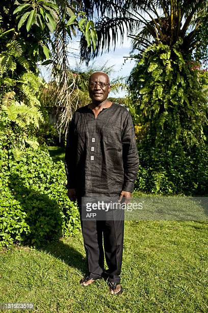 Liberian presidential candidate Winston Tubman poses on November 8 2011 in Monrovia Tubman has accused President Ellen Johnson Sirleaf's security...
