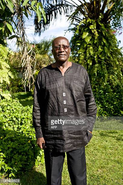 Liberian presidential election candidate Winston Tubman poses on November 8 2011 during an interview in Monrovia Tubman has accused President Ellen...