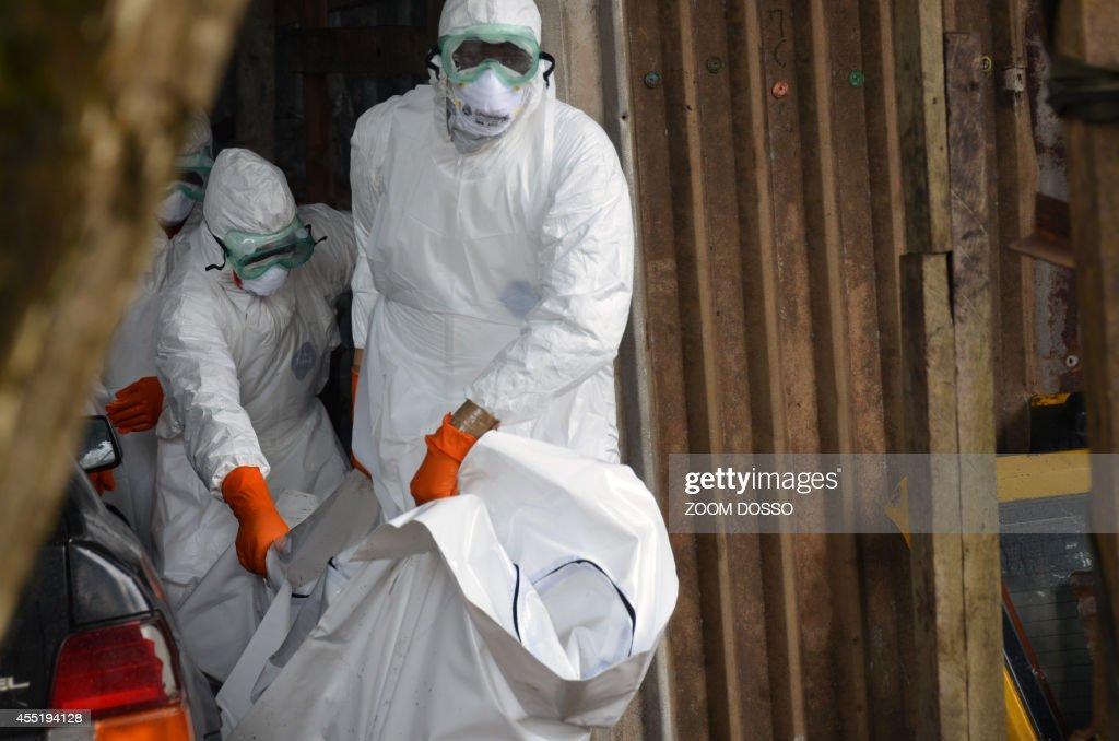 LIBERIA-WAFRICA-HEALTH-EBOLA : News Photo