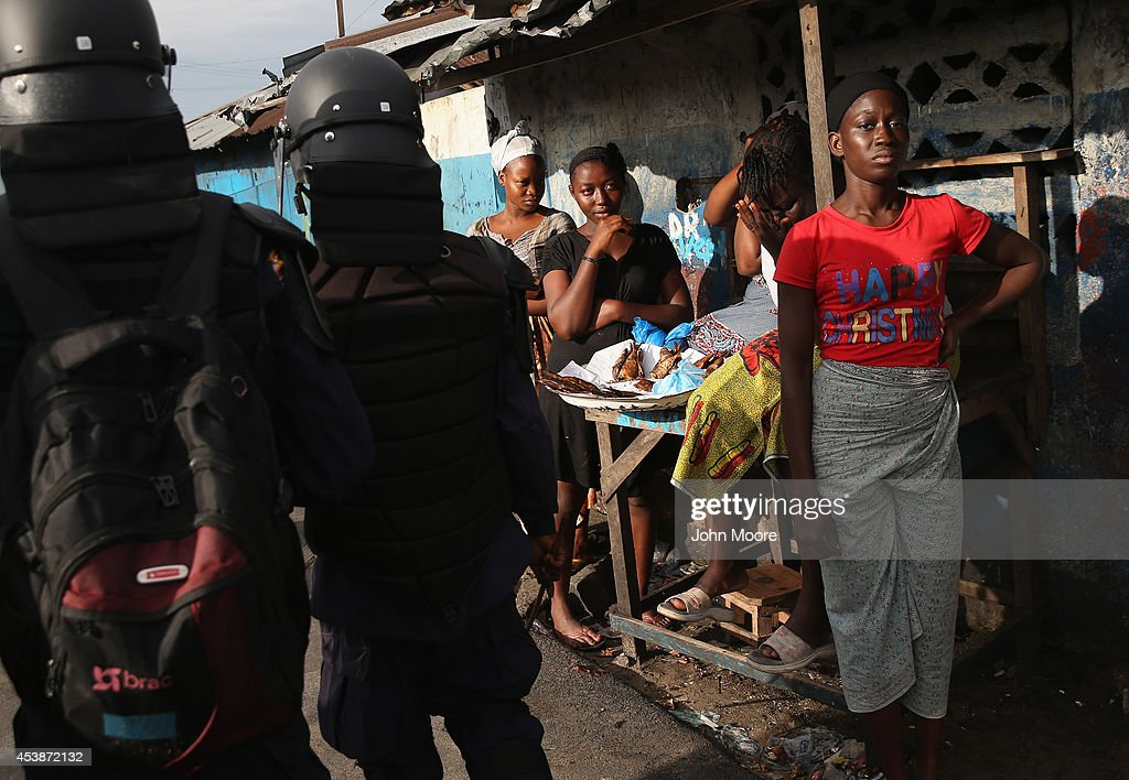 Liberia Battles Spreading Ebola Epidemic : News Photo
