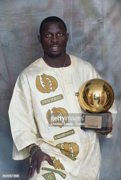Liberian Soccer Player George Weah African Gold Ballon 1995