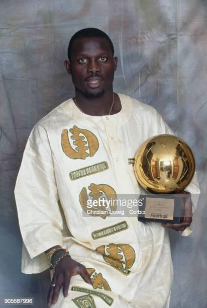 Liberian Soccer Player George Weah - African Gold Ballon 1995