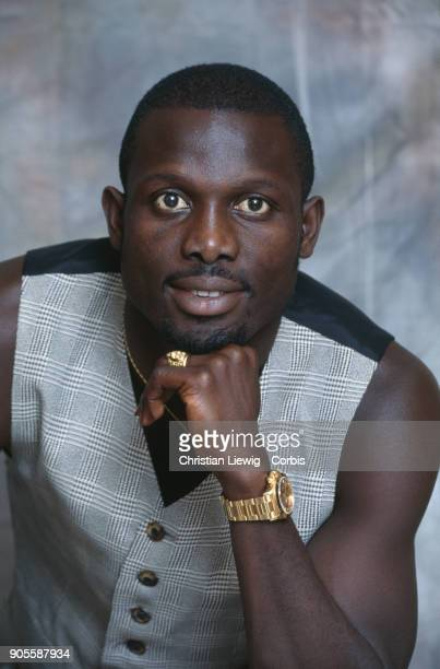 Liberian Soccer Player George Weah