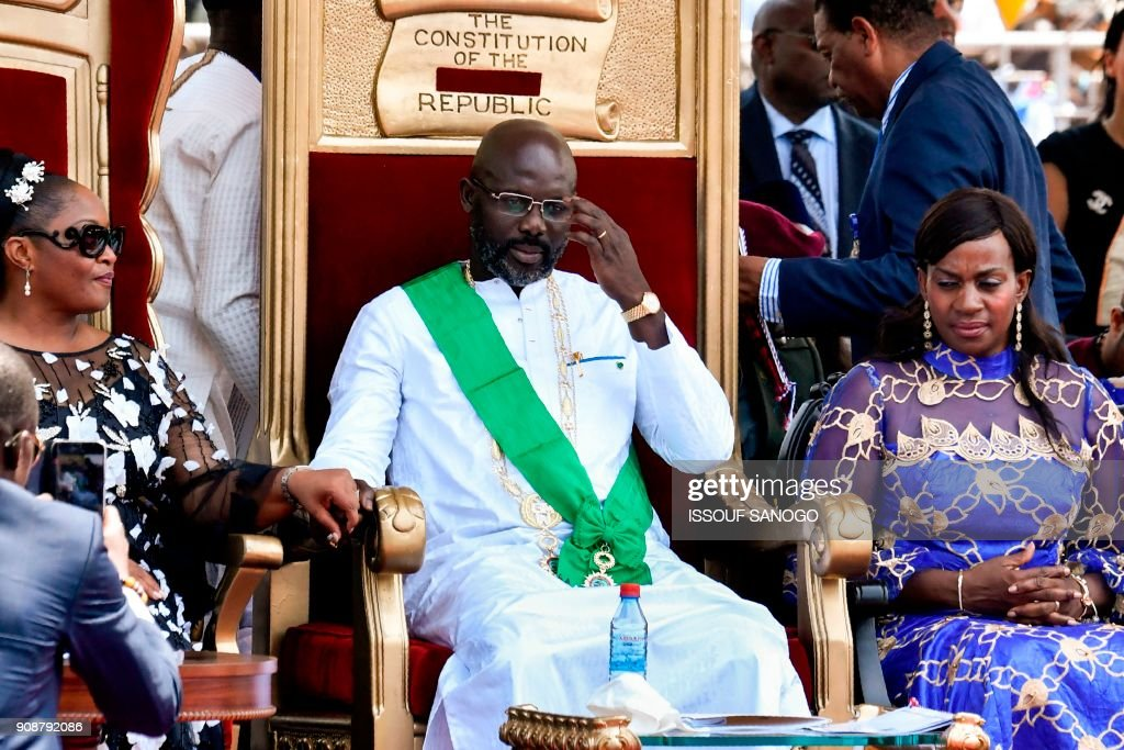Liberia's Ellen Johnson Sirleaf Hands Over Power To George Weah