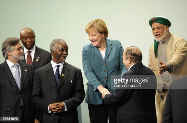Liberia's VicePresident Joseph BoakaiPortugal's Foreign Minister whose country currently holds the European Union presidency Luis Amado Africa...