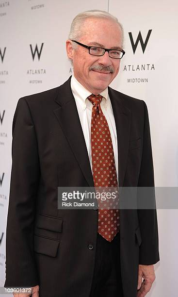 Libertarian Pres Candidate Bob Barr walks the Purple Carpet and helps celebrate The Grand Opening of W Hotel Atlanta Midtown on May 29 2008