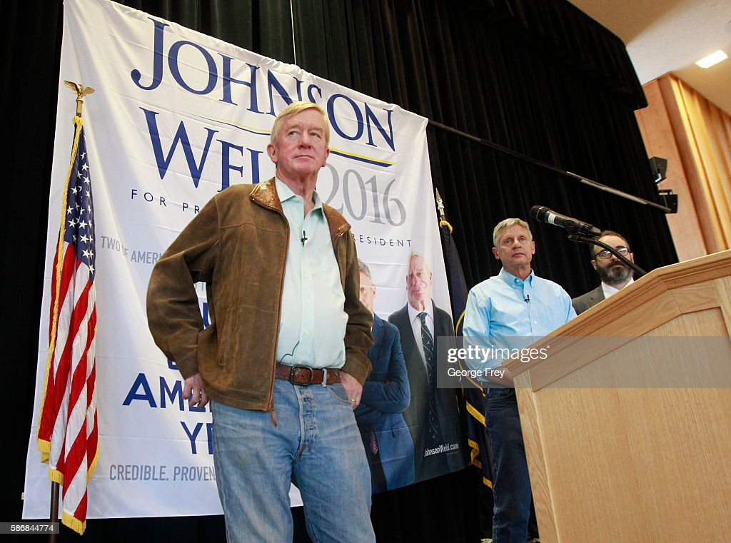 Libertarian Presidential Candidate Speaks At University Of Utah In Salt Lake City : News Photo