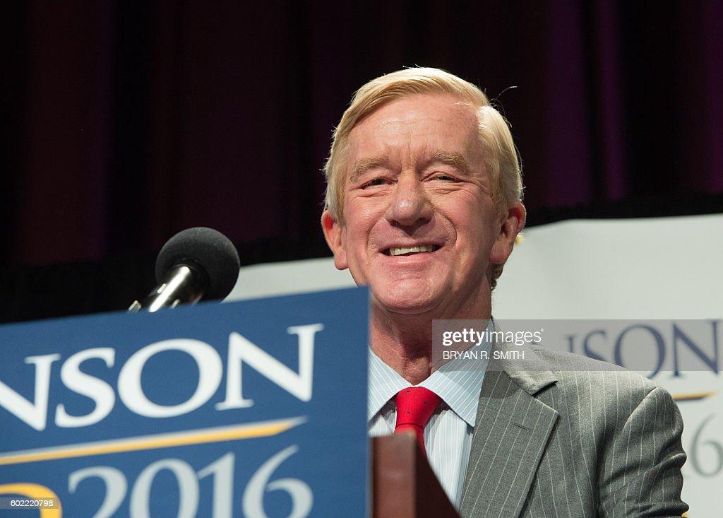 US-VOTE-LIBERTARIAN-JOHNSON : News Photo