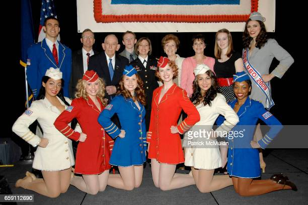 Liberty Bells and Major General Patricia D Horoho with Family Members attend The WOMAN OF THE YEAR USO of Metropolitan New York 43rd Annual Luncheon...