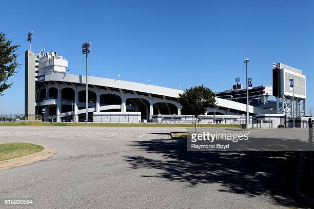 Liberty Bowl Memorial Stadium home of the Memphis Tigers football team in Memphis Tennessee on October 3 2016