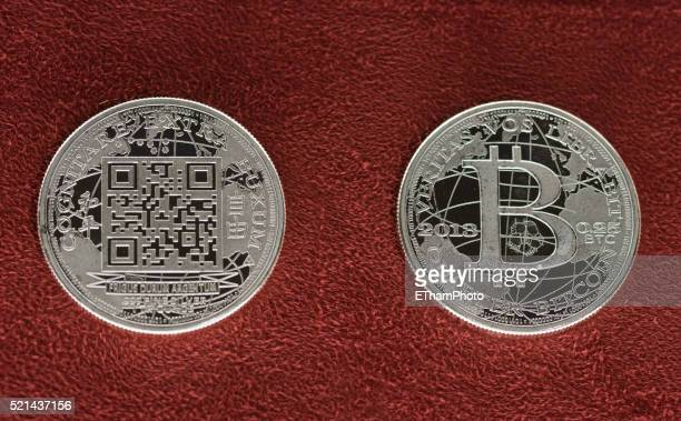 Liberty Dollar Bitcoin coin