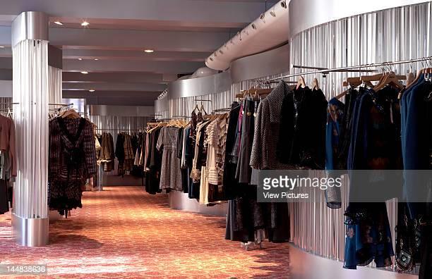 Liberty Great Marlborough Street London W1 United Kingdom Architect Edwin T Hall Liberty Department Store London View Of Womenswear On Hanging...